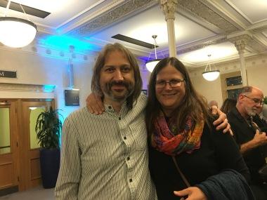 With Greg Spawton