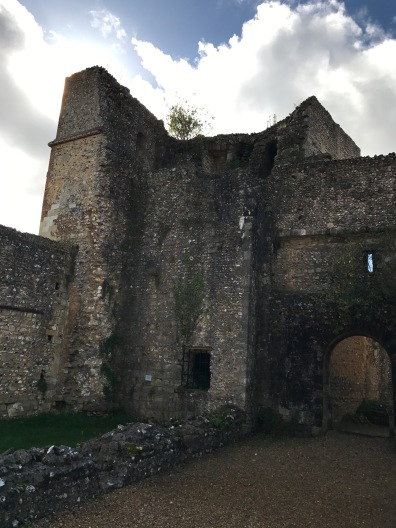 Wolvesey Castle. Keep where the Empress Matilda was held by the Bishop of Winchester. The Bishop, King Stephen's brother, Henry, changed sides several times during the civil war between Stephen and Matilda.