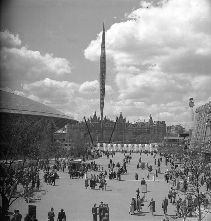Skylon in 1951.