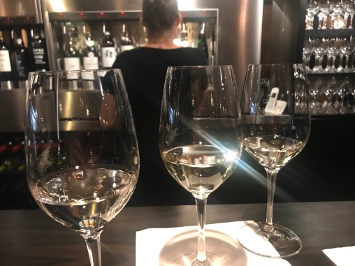Flight of Sauvignon Blanc