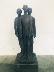 Statue to Concentration Camp victims