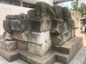 Piece of old Roman Wall