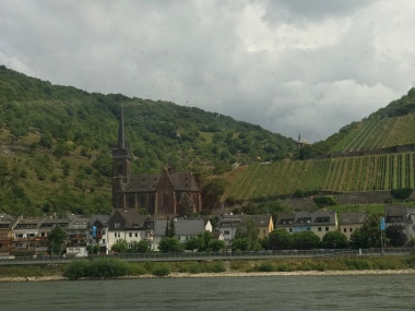 Town along the Rhine