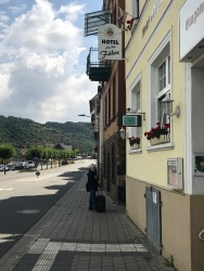 Arriving in Sankt Goar