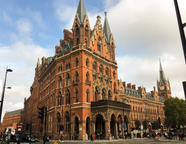 St. Pancras Station and Hotel