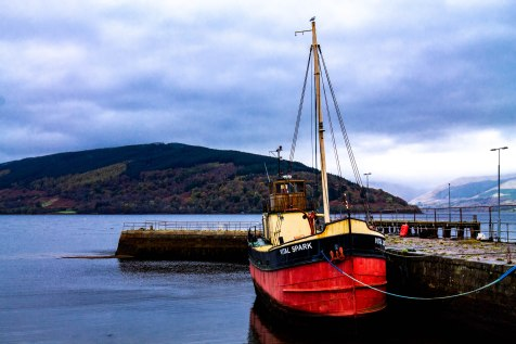 Fishing boat on Loch Fyne, Inverary