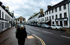 Main road of Inverary